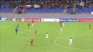 Effet peigne sur les chaines beIN SPORTS HD Morocco vs Kenya L