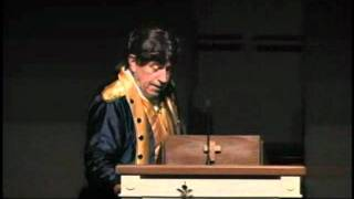 Dr. Ralph Green re-enacts Patrick Henry speech