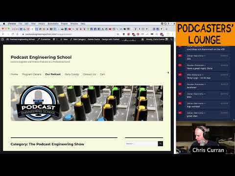 Podcasters' Lounge – Podcast Engineering School