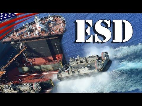Expeditionary Transfer Dock (ESD) USNS John Glenn (T-ESD-2) - 【海上兵站基地】遠征ドック型運搬艦USNSジョン・グレン