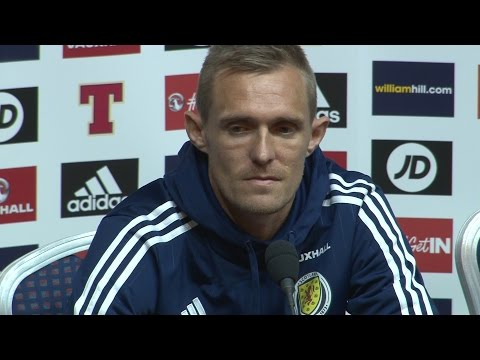 Darren Fletcher Full Press Conference Ahead Of Scotland v Lithuania