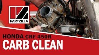 How to Clean Honda CRF Carbs | Honda CRF 450R | Partzilla.com