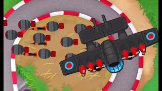 Bloons TD 6 -WHOA -The FLYING FORTRESS is Unstoppable!!