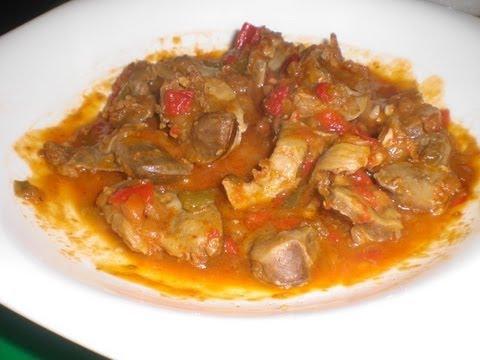 Receta Mollejas de pollo comida mexicana  YouTube