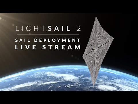 Watch crowdfunded spacecraft LightSail 2 unfurl its solar sail live