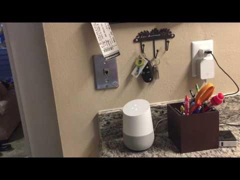 Google Home and Chromecast/Audio Demo