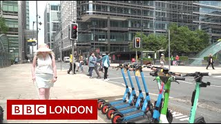 E-scooters 'not safe' without audible signals- BBC London