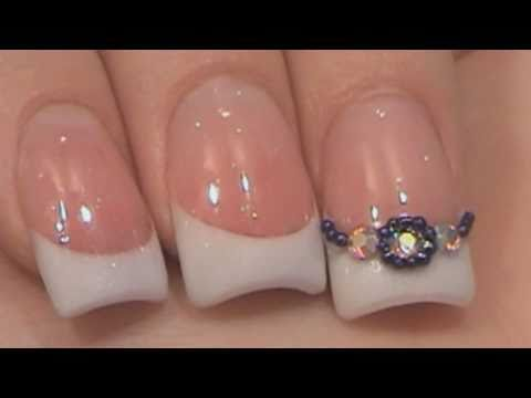Acrylic Nails Tutorial - Sculpted Pink & White