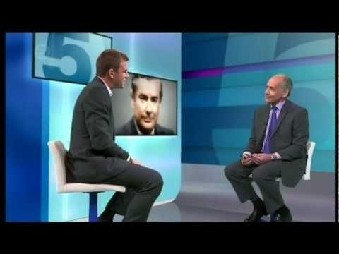 Channel 5 tribute for Alistair Burnett - ITN Veteran newsreader - with Alistair Stewart OBE