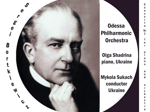 Sergei Bortkiewicz. Concerto No 1 For Piano And Orchestra In B Flat Major, Op 16