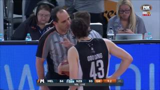 Full Melbourne United v New Zealand end game incident