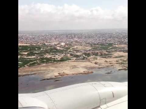 Mogadishu Airport Landing
