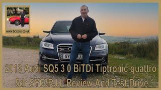 2013 Audi SQ5 3 0 BiTDi Tiptronic quattro 5dr Sy63rjj Review And Test Drive