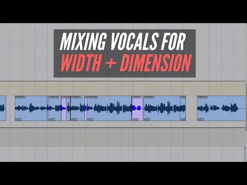 Mixing Vocals For Width And Dimension – RecordingRevolution.com