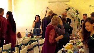 Первый тост на свадьбе 2018 Запорожье тамада ведущая Мария