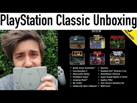PlayStation Classic - Unboxing... A Few Months Late [Product Stuff]