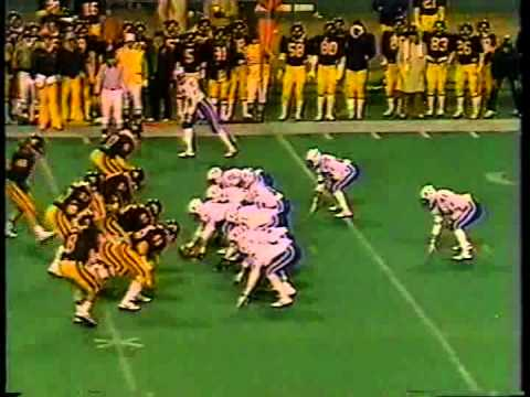 1983 HALL OF FAME BOWL WEST VIRGINIA vs  KENTUCKY 2nd Half