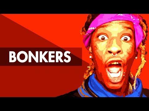 BONKERS Dope Trap Beat Instrumental   Lit Hard Rap Hiphop Freestyle Trap Type Beat  Free DL