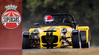 Insanely fast Caterham Seven 620R FOS hillclimb