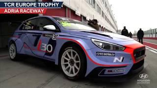 TCR Europe Trophy, Adria Raceway - Hyundai Motorsport 2017
