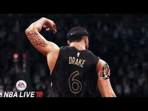 DRAKE IN NBA LIVE 18! - 6 GOD LOOK ALIVE MIXTAPE 🔥
