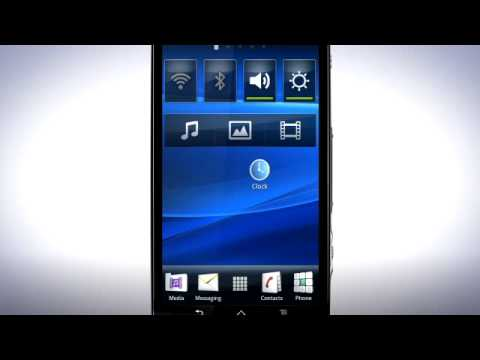 Xperia™ neo - The Home screen
