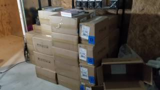 Bitcoin mining farm update 125 S9 antminers
