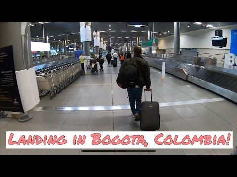Travel Experience - Landing in Bogota, Colombia El Dorado Airport 11/27/20