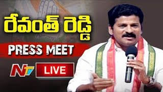 Revanth Reddy Live : Revanth Reddy Press meet about COVID situation in Telangana Live | Ntv Live