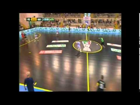 Antonio Capuozzo-Pescara Calcio a 5-Campioni D'Italia 2015-Le sue Parate.....