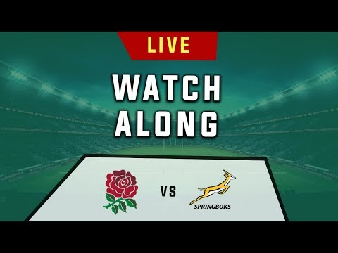 England Vs South Africa - Rugby World Cup Final - Live Watchalong (Stream)