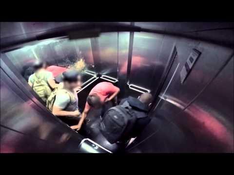 【閲覧注意】ブラジル発 下痢ドッキリ4(エレベーターエディション)【海外ドッキリ】