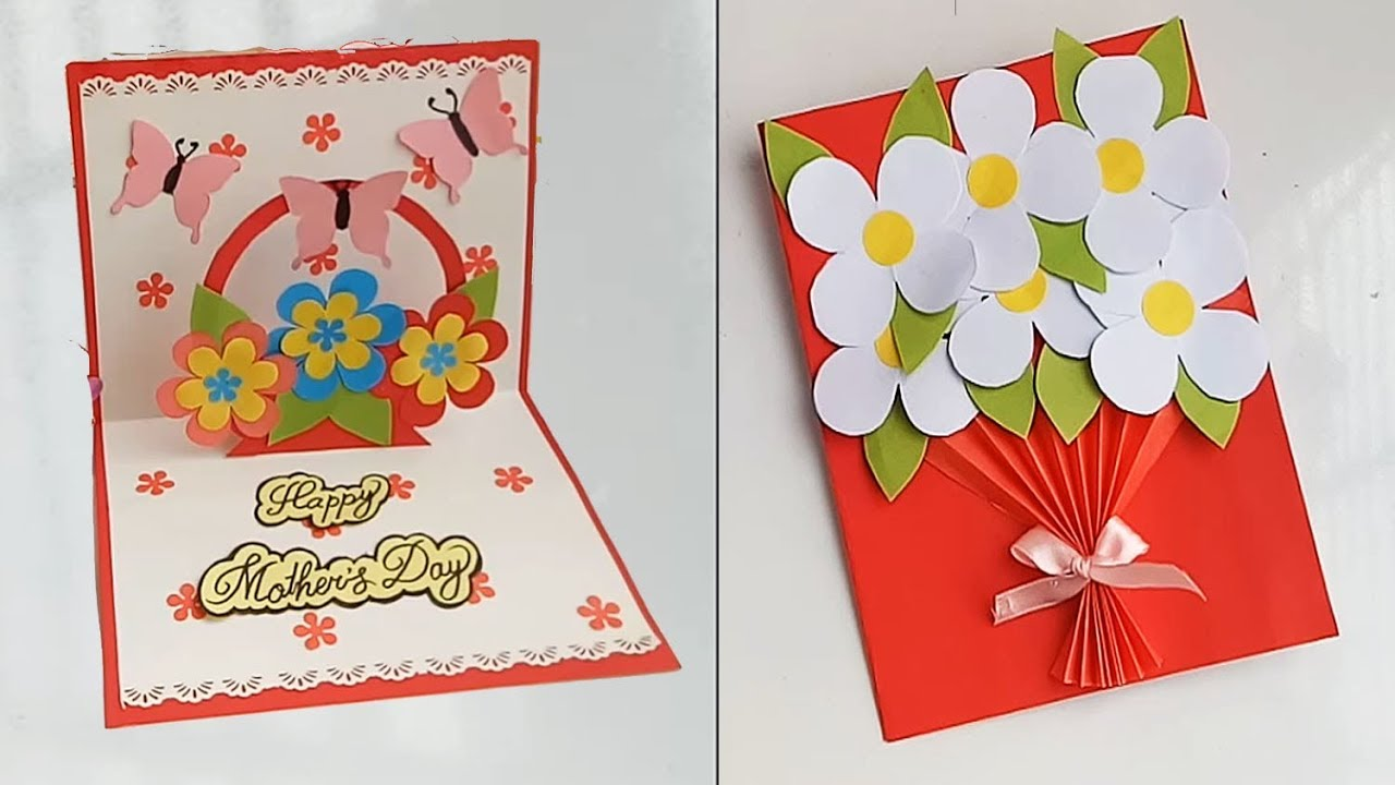 3D Pop Up Birthday Cards Mother/'S Day Greeting Card Handmade Thank You Card Fo