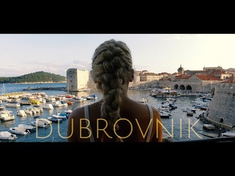Dubrovnik-Croatia. Breathtaking View And One Unexpected Twist From Dubrovnik Old Town