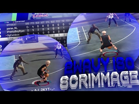 2WAVY ISO SCRIMMAGE NBA 2K19!!BEST ISO SIGS IN NBA 2K19!!SOMEONE GOT EXPOSED!!