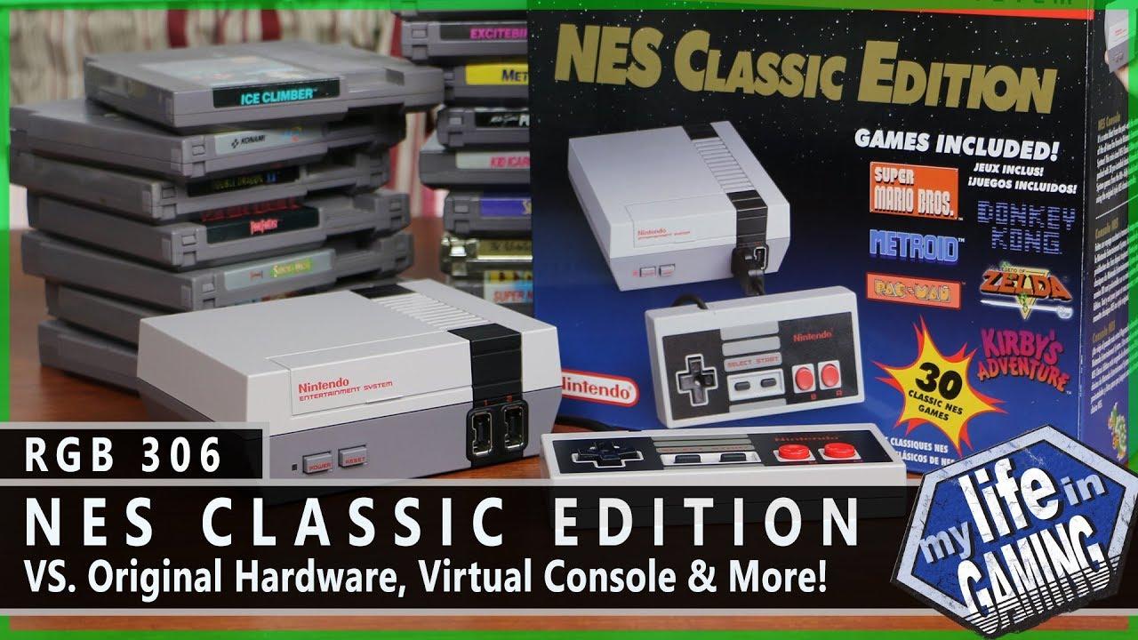 Rgb306 The Nes Classic Edition Vs Original Hardware Virtual