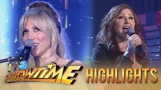 Gambar cover It's Showtime: International singers Debbie Gibson & Tiffany perform for the madlang people!