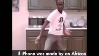 A african dance on the Iphone ringotne