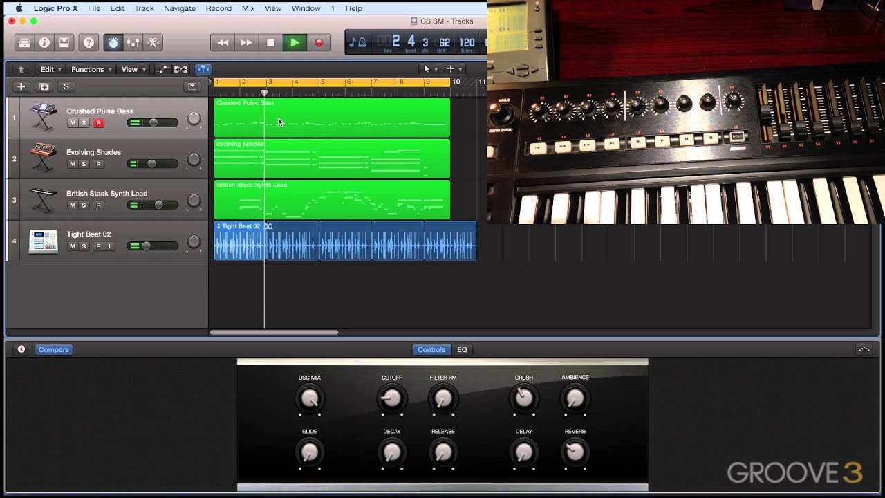 Logic Pro X 10 2 2 - Automatic Control Surface Assignment (Video