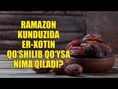 """Savol-javob: """"Ramazon kunduzida qo'shilish kafforati"""" (Shayx Sodiq Samarqandiy)"""