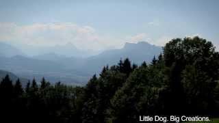 Budget Travel Salzburg Hiking around Campground Aigen