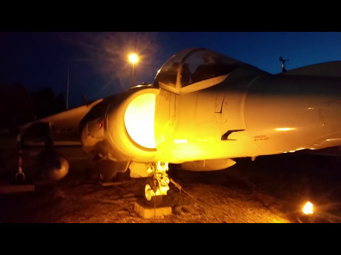 R.A.F. WITTERING. ✈ Harrier Jump Jet