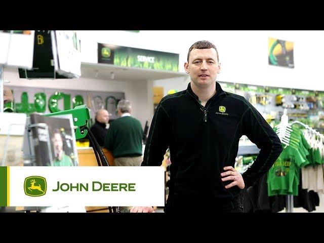 John Deere - Expertise logistique - Remplacement du capot et du radiateur