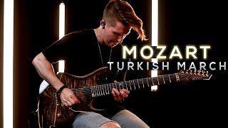 MOZART - Turkish March (Rondo Alla Turca) - Cole Rolland (Metal Cover)