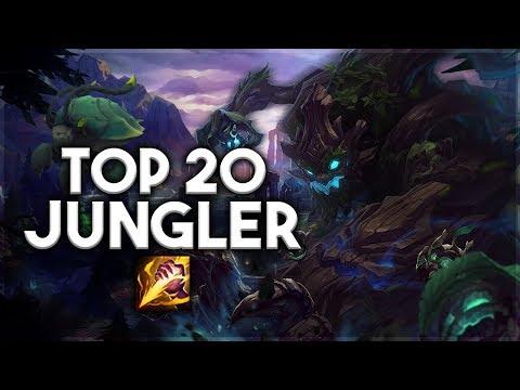 Top 20 JUNGLER Plays #03 | League of Legends