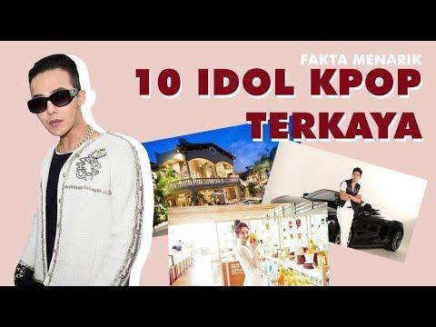 Akhirnya Terungkap ! Inilah 10 Idol Kpop Terkaya Yang Kamu Gak Tau ! Ada Biasmu ?