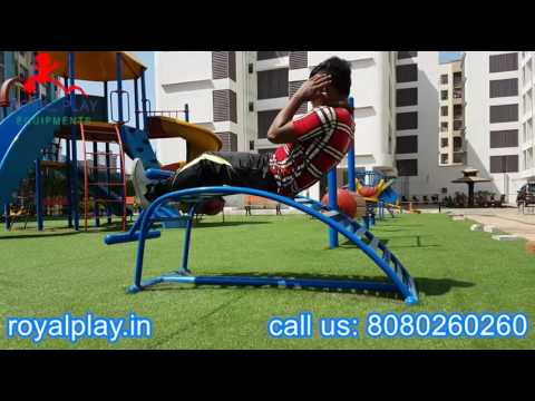 Open Gym Equipments ABS Trainer For Outdoor Garden Play Area