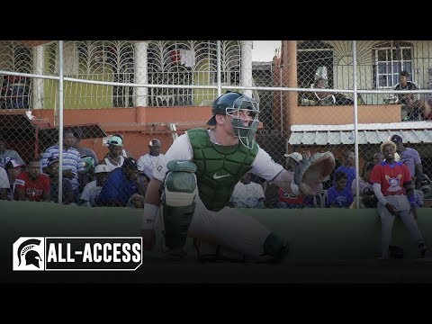 MSU Baseball Travels To The Dominican Republic | Spartans All-Access | Michigan State Baseball