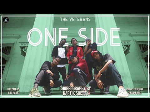 One Side - DIVINE   Dance Video   Kartik Shetty Choreography   The Veterans