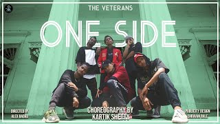 One Side - DIVINE | Dance Video | Kartik Shetty Choreography | The Veterans